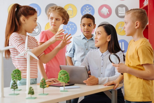 Cooperative learning is abundant in inclusive classrooms