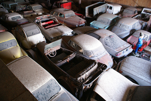 Collector's 700-car stash goes on the block