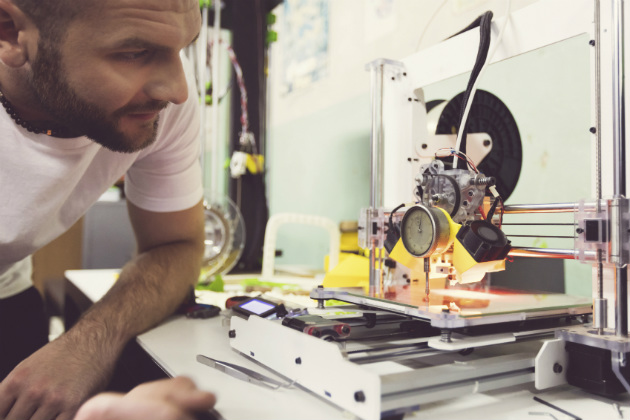 The future is now: 3-D printers are poised to disrupt the economy