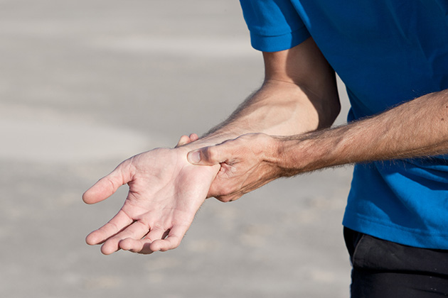 Don't let wrist pain sideline your game
