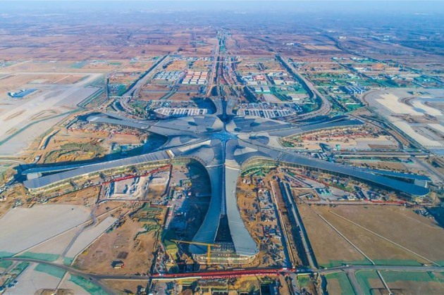 Date announced for opening of new Beijing Airport