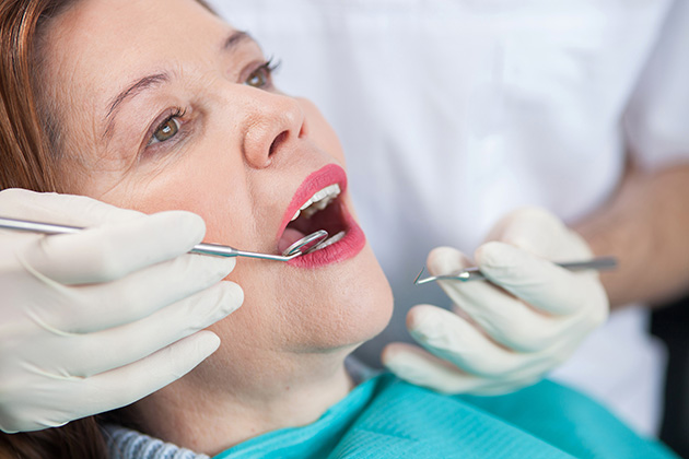 Hormones and periodontal disease in menopausal women