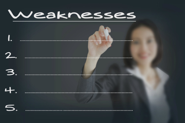 Recognizing your weaknesses is a real strength