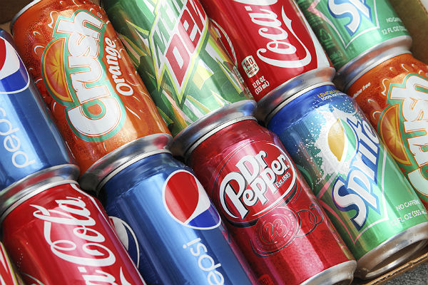 Who's drinking the most soda across the US?