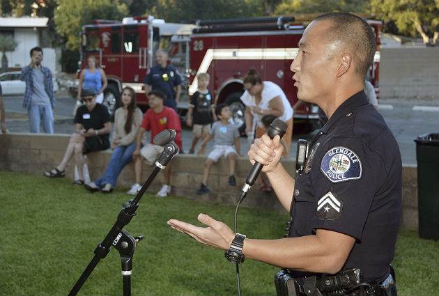 Officers build community bonds with summer charity events