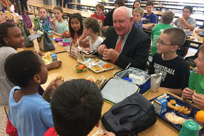 Are USDA's changes to school lunches needed?