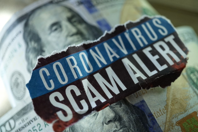 How to avoid COVID-19 scams