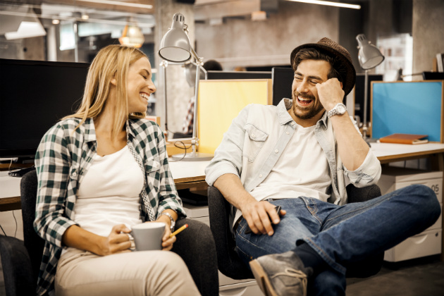 The reality of work relationships: Co-workers in love