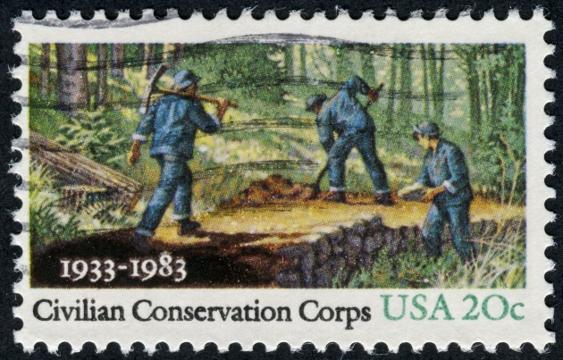 Enjoying the results of the Civilian Conservation Corps