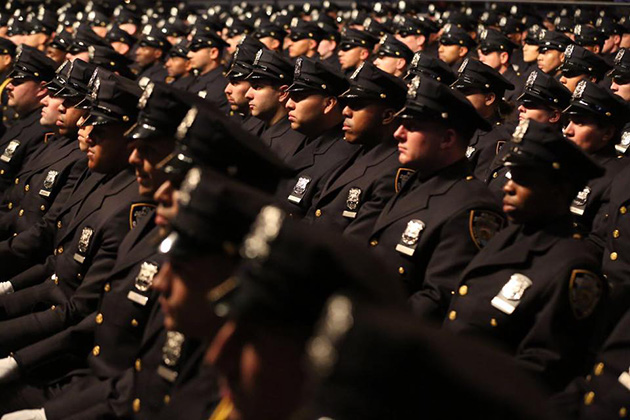 Today's police graduates face huge challenges