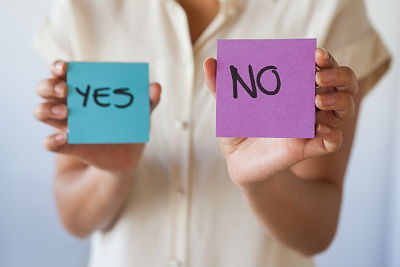 Making hard decisions: When leaders should say yes and no