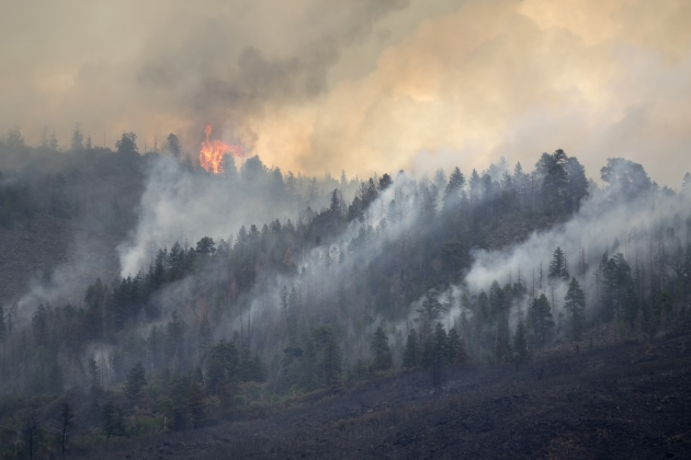 Western wildfires spread apace with drought, rising temperatures