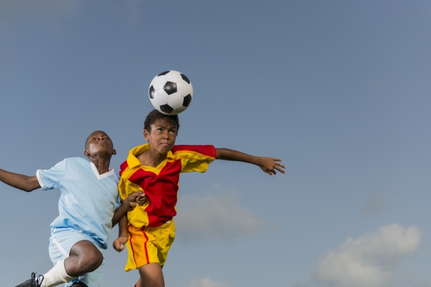 Heads-up: Repeated headers may lead to balance issues for young soccer players