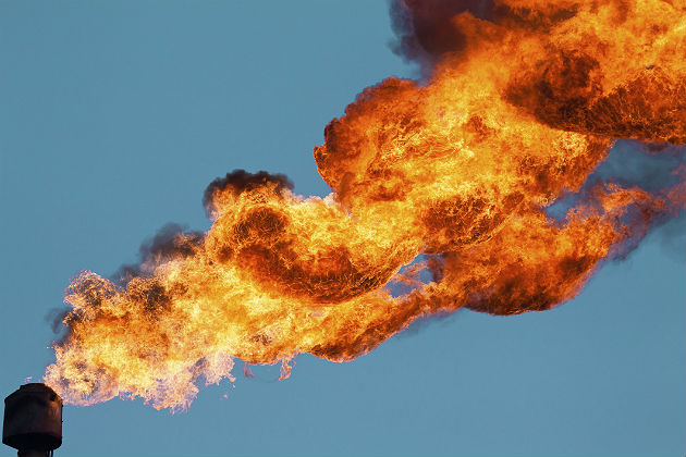 The market failure of gas flaring