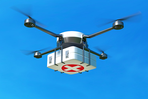 Not 'The Jetsons,' but close: Walmart testing drone delivery of COVID-19 testing kits