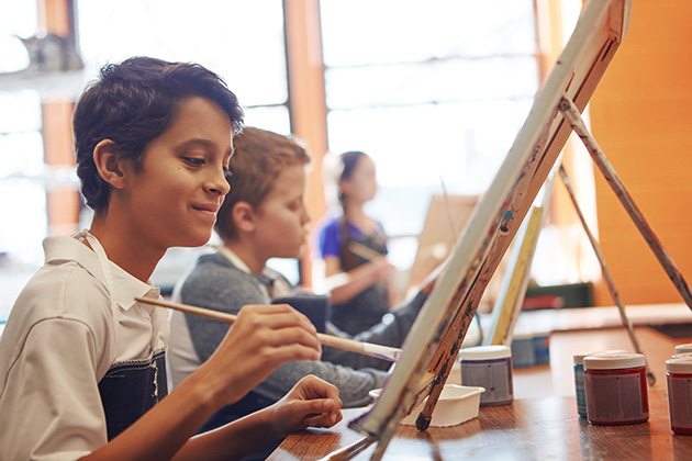 Finding the proper place for the arts in education: Visual arts