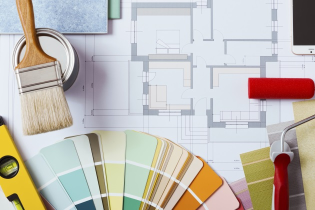 Interior design activity trends positively in spring