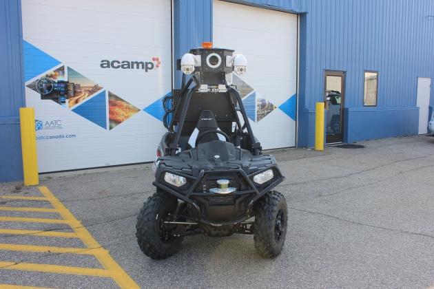 Edmonton tackles fence security with autonomous vehicles