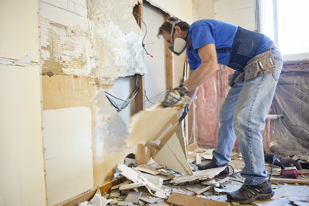 The during is as important for remodeling as the before or after