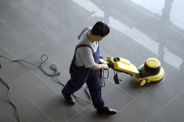 How to thoroughly clean high-traffic floors