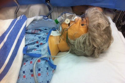 Pressure ulcer prevention with simulation program