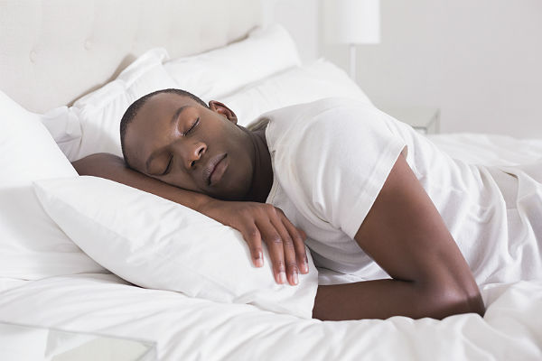 Study: Your choice of sleep position may affect your brain