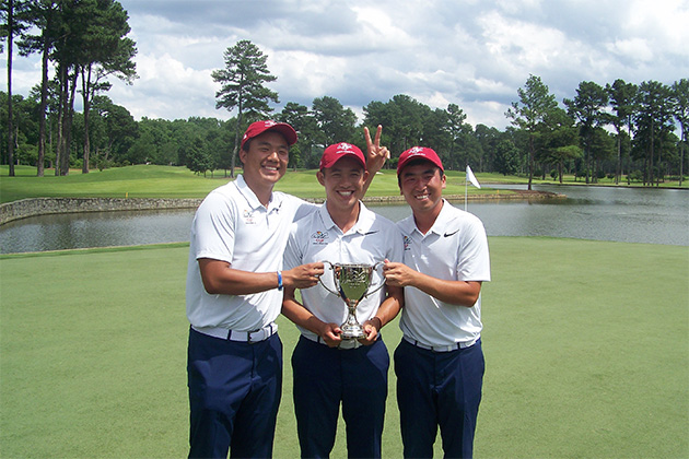 Collegians in the US Amateur