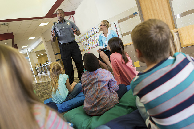 The evolving role of police in schools