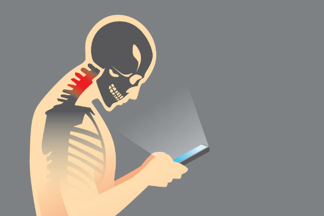 Your neck bone's connected to your smartphone