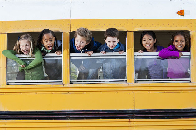 Maximizing learning time while riding the big yellow bus