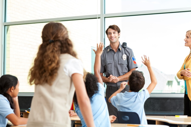 How school resource officers can help ensure student safety during the pandemic