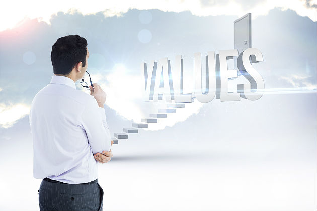 Putting a value on values