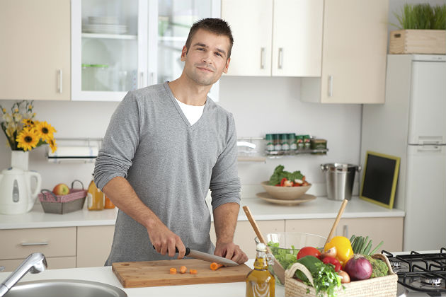 Men are changing the concept of the kitchen