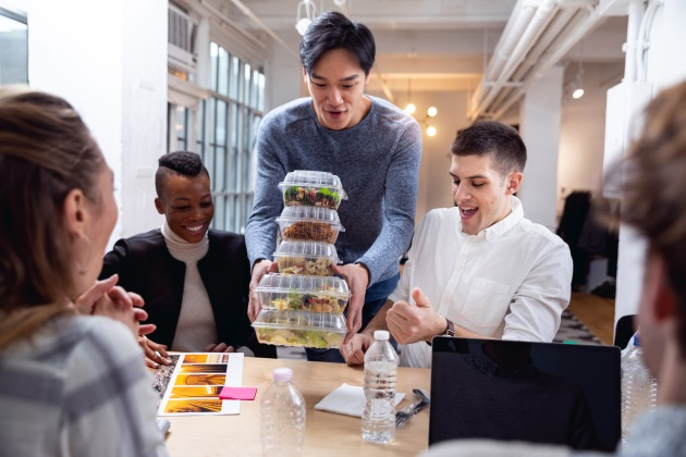 Should employers provide food at work?