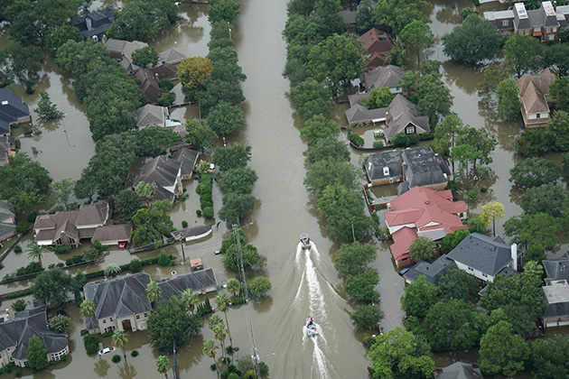 Law enforcement, authorities still reeling from Harvey impact