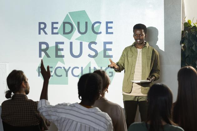 How to encourage a sustainable focus in college students and future professionals