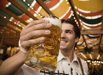 Raise a glass of beer — to your health