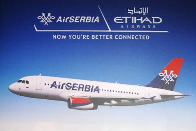 Etihad to establish Belgrade hub through Air Serbia