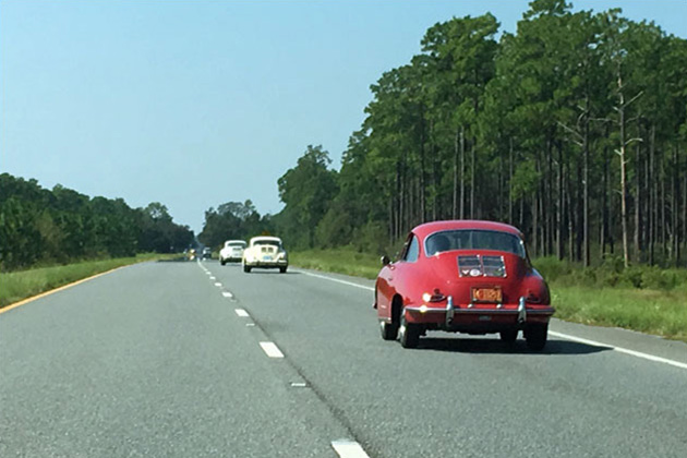 Porsche 356 aromatherapy