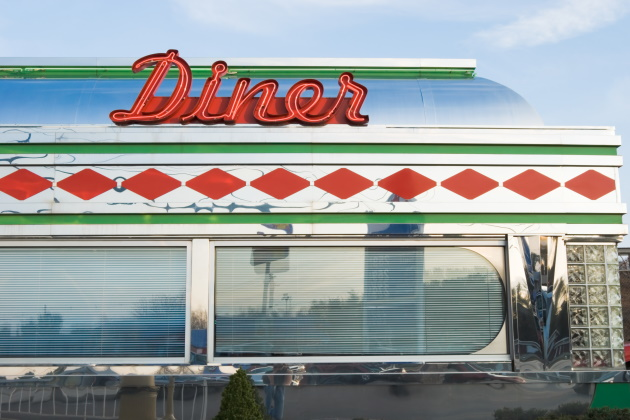 8 of America's favorite, authentic diners