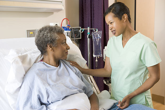 Nurses play an important role in caring for heart failure patients
