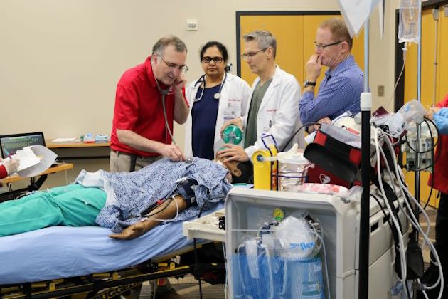 Simulation allows practice of 'Code Blue drill' in large health center at the University of Georgia
