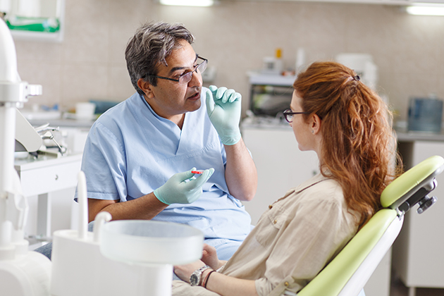 Ways to calm an anxious dental patient