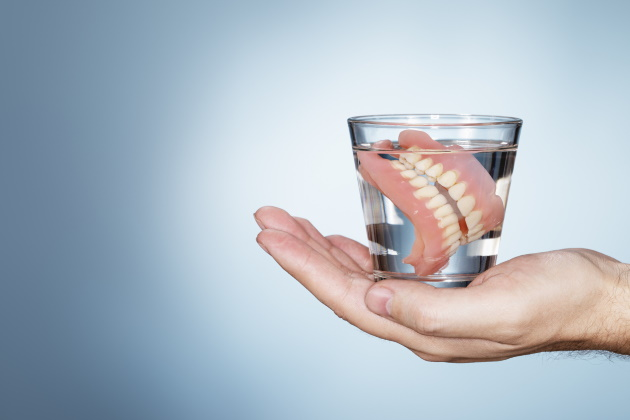 A curious case of 'lost' dentures after surgery