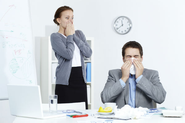 Surviving cold and flu season in your office: 4 ways to stay healthy