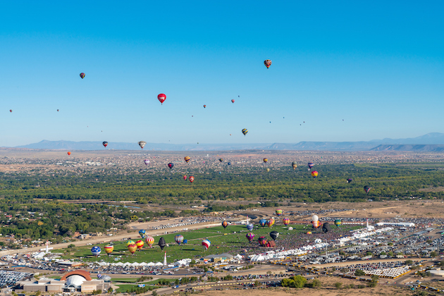 Up, up and away at 6 top hot air balloon festivals