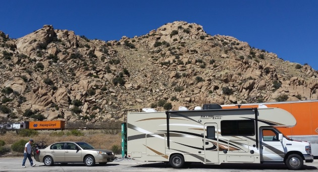 Exploring geology while RVing