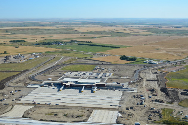 Williston, North Dakota, is home to America's newest airport