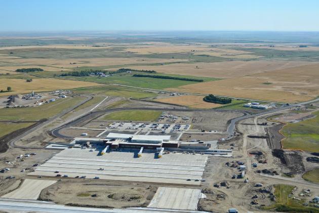 Williston, North Dakota, is home to America's newest airport