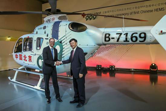 Civil HEMS finally arrives in China